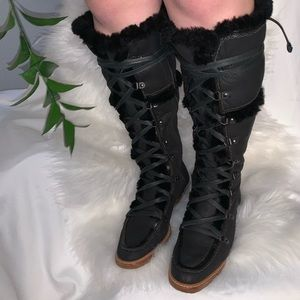 Cole Haan winter over the knee Boots
